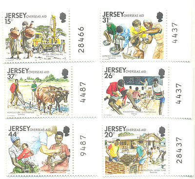 Jersey-Overseas Aid mnh 1991-Science