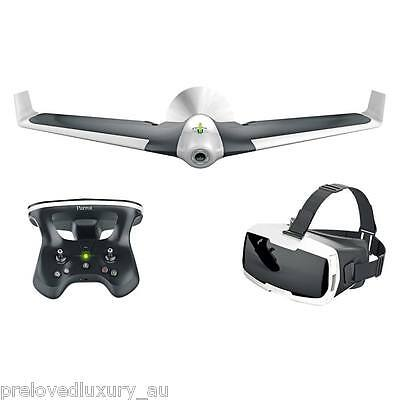 NIB Parrot DISCO FPV Bundle with Skycontroller 2 Drone White/Black - QUICK SALE