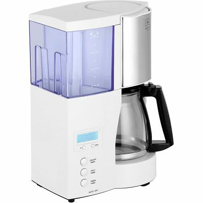 Melitta 6613655 Optima Timer Filter Coffee Machine with Timer White New from AO
