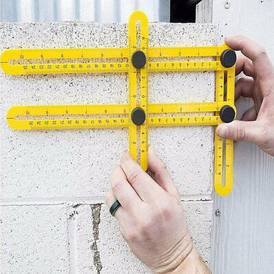 Multi Angle-izer Template Angle Measurement Ruler General Tools for Carpenter