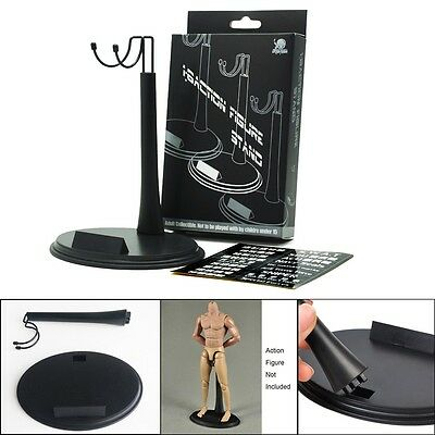 New 1/6 Scale Action Figure Body Base Display Stand U Type For Hot Toys Sideshow