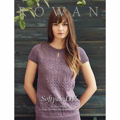 Rowan Softyak DK Brochure Knitting Patterns Leaflets Needlecraft 12 Designs