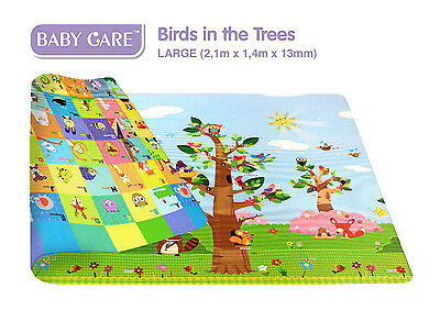 BABY CARE - Playmat - Spielmatte - Birds in the Trees - Kinderspielmatte - Mat-L