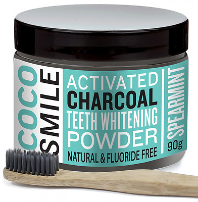 CHARBON ACTIF : Poudre de blanchiment des dents au charbon actif ( activated cha