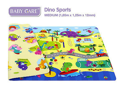 BABY CARE - Playmat - Spielmatte - Dino Sports - Kinderspielmatte - Mat - Medium