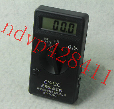 CY-12C Portable Oxygen Concentration Tester Analyzer Sensor New