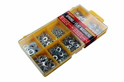 Assorted Box Set of 500 Metric Spring Flat Washers M3 M4 M5 M6 M8