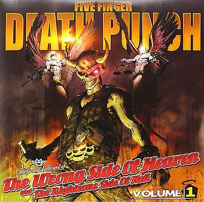 Five Finger Death Punch - The Wrong Side Of Heaven Volume 1 - Vinyl Lp - New
