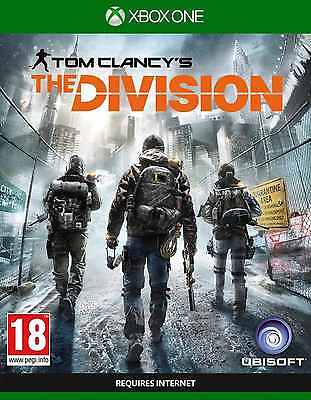 Tom Clancy's The Division - XBox One - MINT XBOX ONE X ENHANCED - 1st Class Del