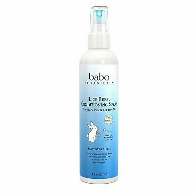 Babo Botanicals Lice Prevention Kids Conditioning Spray, 8-Ounce (Pack Of 3)
