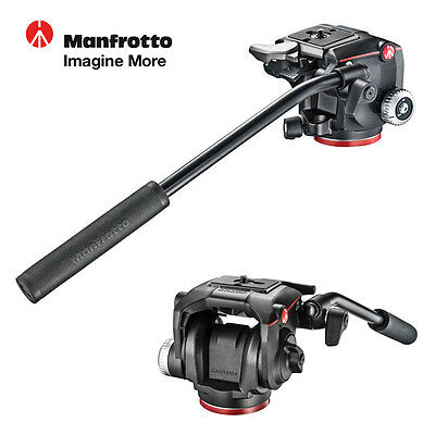Manfrotto MHXPRO 2W Pan/Tilt Fluid Video Head QR 200PL Supports up to 4kg (9lbs)