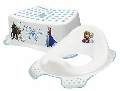 Disney Frozen - Step Stool + Training Seat Combo