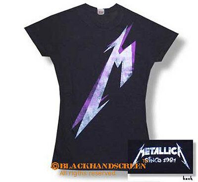 Metallica (Giant M)  Girlie Lady T-Shirt S