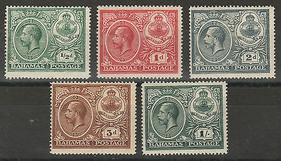 Bahamas 1920 Kgv Peace Set