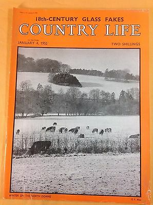 COUNTRY LIFE Magazine : 4th January 1952