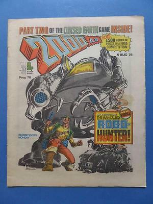 2000Ad 76 1978 Cursed Earth Game 1St Robo-Hunter! No Newsagent Marks!