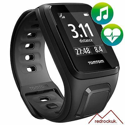 TomTom Runner 2 - Music - Cardio - Black / Anthracite - Small -GPS Running Watch