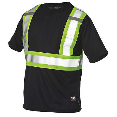 Work King High Visibility T-Shirt S39211-XL-BLK