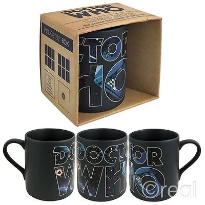 New Doctor Who Comic Classic Logo Mug Coffee Black Tea Cup Official Licensed