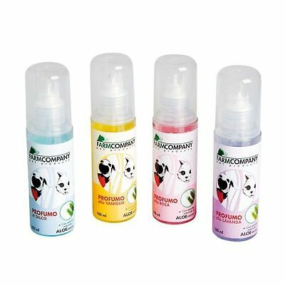 PROFUMO ALL'ALOE VERA PER GATTI E CANI FARMCOMPANY 100 ml. (NGZ2)