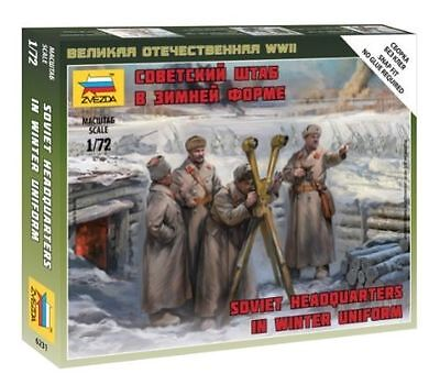 Zvezda - Soviet Headquarters in winter uniform - 1:72