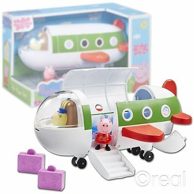 New Peppa Pig Air Peppa Jet Playset Figure Airplane Aeroplane Official