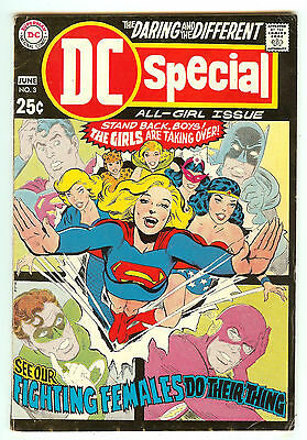 DC Special 3   Unpublished Wonder Woman story   Neal Adams cover
