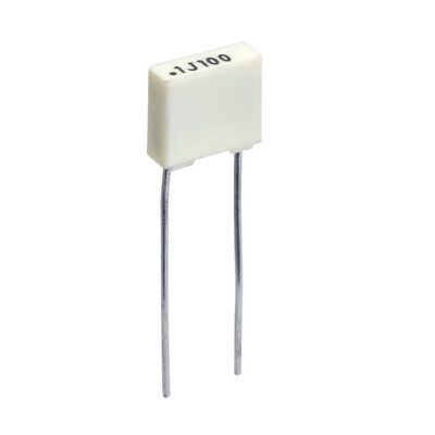 100nF 100V Metallized Polyester Film Capacitors, KEMET, Pack: 2, 5, 10 or 20