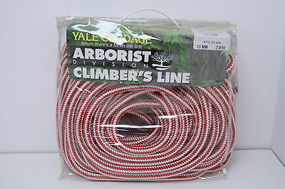 Yale XTC Plus 37m 13mm Climbing Rope 1 Splice Tree Surgeons