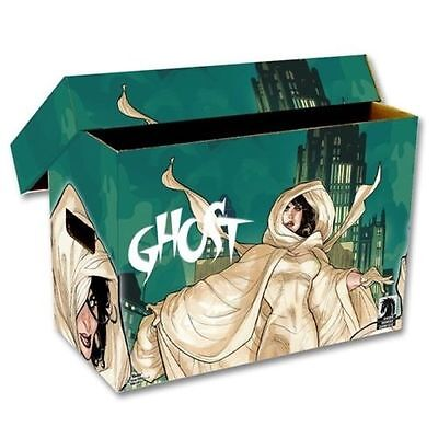 Ghost Art Design BCW Short Cardboard Comic Book Storage Box Holds 150-175 Comics