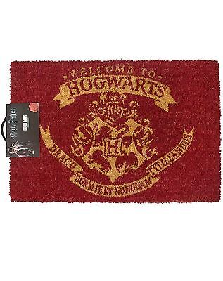 Harry Potter Hogwarts Tapis Officel Paillasson 60 X 40 Cm Coco Pvc