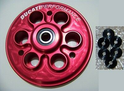 Spingidisco Rosso Antisaltellamento Ducati Performance Red Slippery Plate