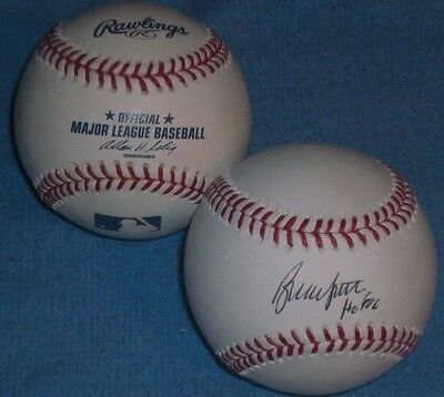 BRUCE SUTTER SIGNED RAWLINGS OFFICIAL MLB BASEBALL  St. Louis Cardinals Cubs HOF