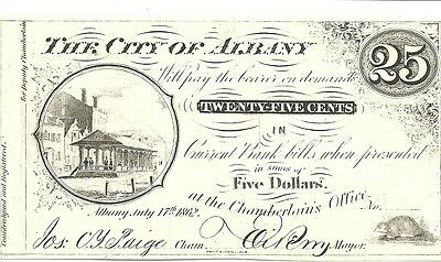 A 659 (40)Albany, New York Civil War Fractional Currency Reprints