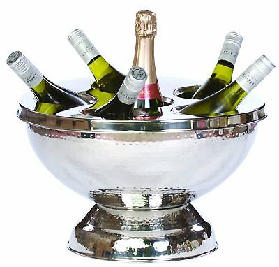 Epicurean Europe Stainless Steel Champagne/ Wine Cooler NEW