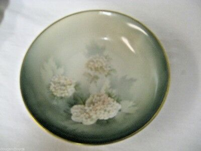 Vintage C S Prussia marked Small Bowl 1723/906/66-White Floral