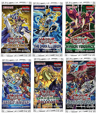 Yu-Gi-Oh! Trading Cards Booster Pack - 1 Sealed Packet Supplied
