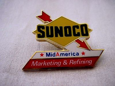 Sunoco  Oil And Gas Marketing &refining   Hat,lapel Pin
