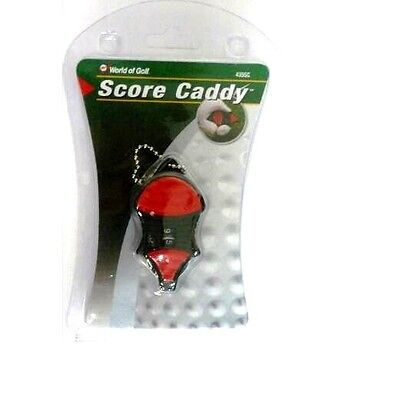 World of Golf Score caddy keeper pocket sized key chain Stroke Counter 435SC