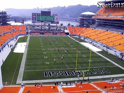 (4) Steelers vs Packers Tickets Upper Level Great View!!
