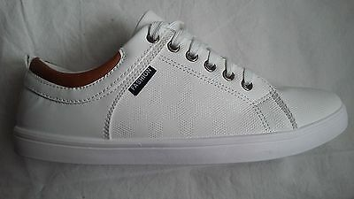 Baskets Homme Blanc A Lacets 40/41/42/43/44/45 Chaussures Sport Fashions