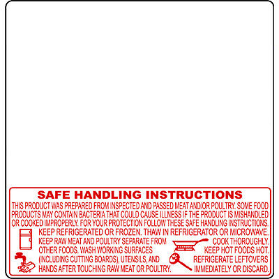 TOR-REY PLS, LSQ, TLS and WLS 60mm Price Computing Scale Labels w/ Safe Handling