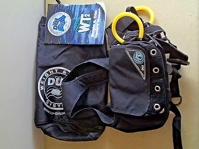 DUI Weight and Trim System for Scuba Diving Size Medium