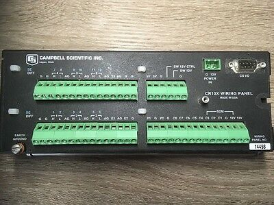 Campbell Scientific CR10X Wiring Panel 2 MEG Extended Memory Control Module