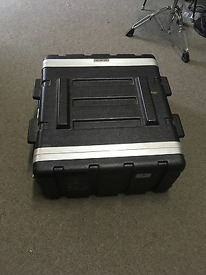 UXL Double Effects or Amplifier Rack Road Hard Case Flight