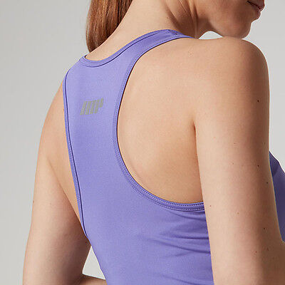 MyProtein Racer Back Top purple violet for ladies Sports Top Shirt My Protein