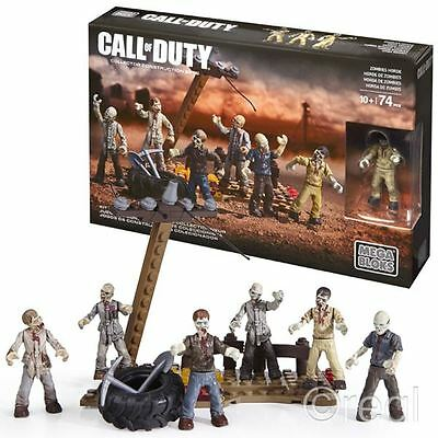 Neu Call Of Duty Zombies Horde Mega Bloks Sets Figuren Bau Offiziell