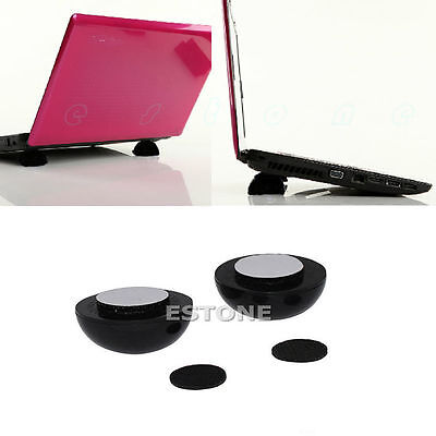NEW Laptop Notebook Cool Ball Cooler Stand + Skidproof Pad