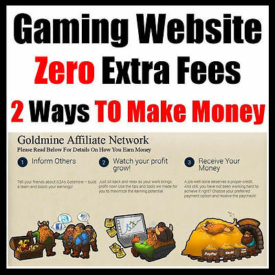 Website - Game Store - Fully Built - Online Business - Internet Based - For Sale