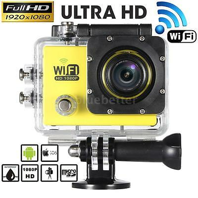 WiFi HD 1080P 12MP SJ9000 Waterproof Sport DV Action Camera Video Camcorder #US#